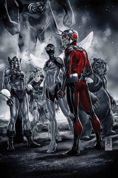 Ant-Man - Mark Brooks