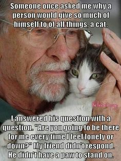 Wow. That's me! And i hate cats...well i used too....