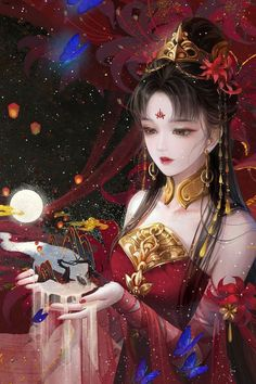 Flying Lines is a hub of hottest Chinese novels. High-rated historical books you must read! Arte Digital Fantasy, Anime Art Fantasy, Digital Art Girl, Fantasy Girl, Manga Kawaii, Arte Do Kawaii, Chica Anime Manga, Kawaii Anime Girl, Anime Angel Girl