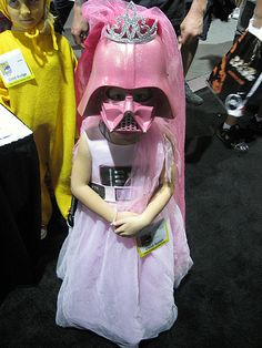 When I have a daughter, she will be Pink Princess Vader for Halloween!!!