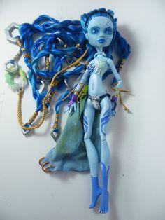 OOAK Monster High Custom Art Doll: Shiva