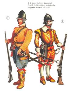 Mercenary German infantry, 1621
