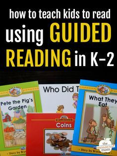 Teaching guided reading can be overwhelming, but it doesn't have to be! This series will show you how to teach guided reading in kindergarten, first grade, and second grade. Learn more about guided reading levels, get a guided reading lesson plan template, and learn how to plan guided reading lessons. #guidedreading #kindergarten #firstgrade #secondgrade #literacy