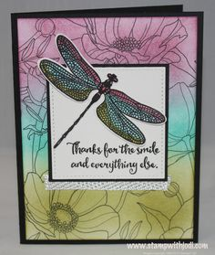 February 2017 - FREE Card Kit in the Mail - Dragonfly Dreams