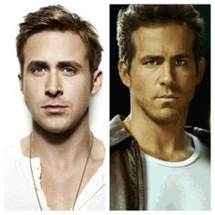 Ryan Gosling and Ryan Reynolds