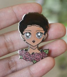 Chiamaka 90s Anime Inspired Cute Enamel Pin - Adorned By Chi - 5