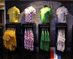 Le Coq Sportif Tour de France installation by Checkland Kindleysides at Harrods London