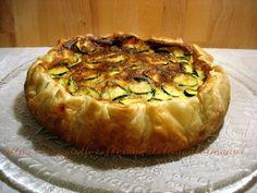 Quiche zucchine e mortadella | Ricette torte salate | Le Mani Di Manu