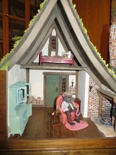 My Mini-mania: RATTY's HOUSE by Rik Pierce