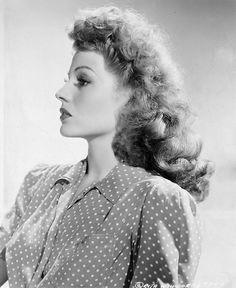 Rita Hayworth, 1940s