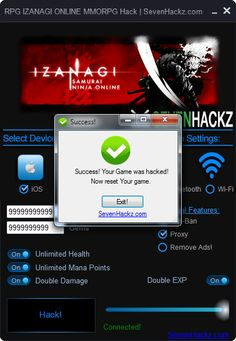 RPG IZANAGI ONLINE MMORPG Hack iOS Android Cheats Download RPG IZANAGI ONLINE MMORPG Hack iOS Android Cheats only at: http://sevenhackz.com/08/rpg-izanagi-online-mmorpg-hack-ios-android-cheats/  RPG IZANAGI ONLINE MMORPG Hack iOS Android Cheats: With RPG IZANAGI ONLINE MMORPG Hack You can add so easy Unlimited Amounts of Unlimited Gold, Unlimited Gems, Unlimited Health, Unlimited Mana Points, Double Damage, Double EXP. RPG IZANAGI ONLINE MMORPG Hack Working at iOS and Android Devices.