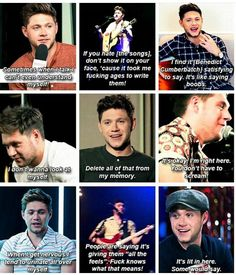 Another reason why we love sassy Niall Horan.