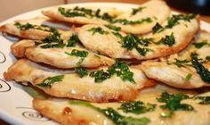 Filetes de pollo con salsa de limón