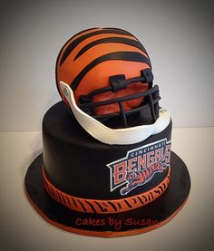 Cincinnati Bengals Cake cakes Pinterest Cincinnati and Cake