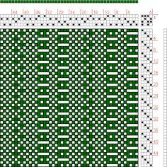Hand Weaving Draft: 24164, 2500 Armature - Intreccio Per Tessuti Di Lana, Cotone, Rayon, Seta - Eugenio Poma, 4S, 4T - Handweaving.net Hand Weaving and Draft Archive