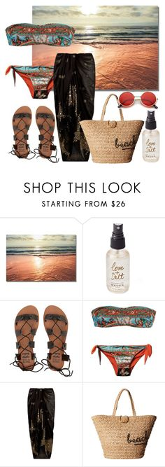 """""""Love & Salt"""" by carmen3601 ❤ liked on Polyvore featuring Olivine, Billabong, Dolce&Gabbana, Accessorize, Hat Attack and ZeroUV"""