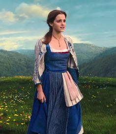 Emma Watson as Belle in Beauty and the Beast - 2017