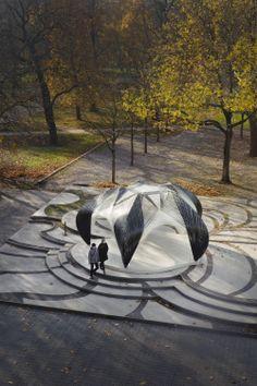 Galeria - Pavilhão de Pesquisa ICD/ITKE / Universidade de Stuttgart, Faculdade de Arquitetura e Urbanismo - 141 Andre Sousa & Marcelo Rodriges TP2