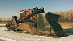 Work Train, Train Art, Snow Machine, Railroad History, Norfolk Southern, Railroad Photography, Snow Plow, Train Tracks, Heavy Equipment