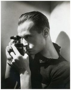 Photographer Henri Cartier-Bresson, 1933, photographed by George hoyningen-Huene