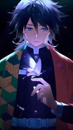 boy anime wallpaper iphone tomioka junge schmetterling weiß bunte klamotten