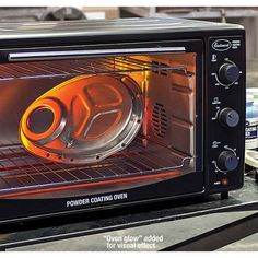 Now you can powder-coat at home without ruining your toaster oven smile emoticon Check out the high quality bench top powder coating oven from Eastwood! http://www.jegs.com/i/Eastwood/352/15635/10002/-1