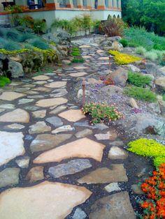 garden path mosiac