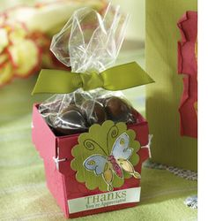 Another cute favor box idea in your choice of colors