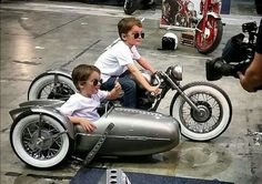 Inspiring thoughts that we completely love! Custom Motorcycles, Custom Bikes, Custom Cars, Cars And Motorcycles, Motorcycle Baby, Tracker Motorcycle, Kids Atv, Kids Bike, Bike Cart