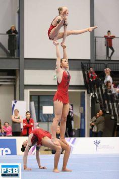 acrobatics leotards by lilachelene Amazing Gymnastics, Gymnastics Pictures, Artistic Gymnastics, Gymnastics Girls, Gymnastics Flexibility, Acrobatic Gymnastics, Pink Neon Wallpaper, Acro Dance, Partner Yoga Poses