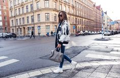 Shoes here // jeans here (adlinks) // Carin Wester jacket // sweater from Zara // Alexander Wang...