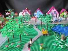 Lego Minecraft, Lego Moc, Lego Duplo, Lego Ninjago, Minecraft Buildings, Lego Activity Table, Lego Table, Lego Technic, Lego Batman