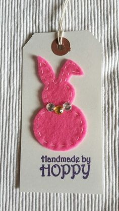 Handmade by Hoppy - gift tag
