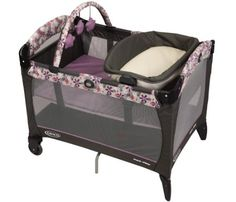 Amazon.com: Graco Pack 'N Play Playard with Reversible Napper and Changer, Adaline: Home & Kitchen