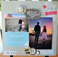 So Happy Together - Save the Date by Ginajo15 @kari alissa Peas in a Bucket