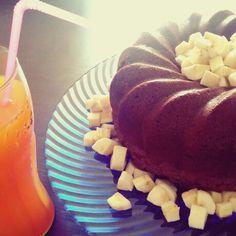 #Ciambella al #cioccolato pronta per la #merenda!  #food #foodblogger #foodblog #cucinare #ricette #dolci   www.mydeliciousmag.it