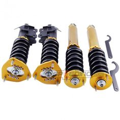NISSAN S13 Silvia 240SX 180SX 200SX Adjustable Coilover Shock Absorber Coil Strut Suspension Kit