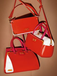 44b8d86ea696 Cavalli Class SS 2014 Collection Big Bags, Red Heels, Red Lipsticks, Hermes  Kelly