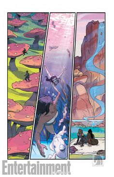Korra And Asami Enjoy A Date In This 'Legend of Korra' Comic Preview
