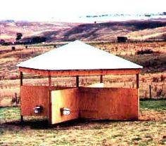 Great horse shelter