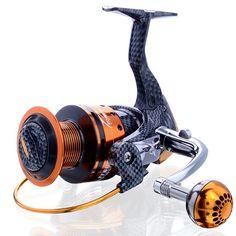 Brand New 2016 Saltwater Metal Spinning Fishing Reel 6000 Series 13 BB 5.1:1