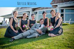 Nautical Wedding Theme on Marry Me Metro a city wedding blog http://marrymemetro.com