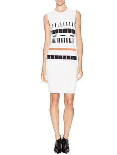 Block Print Sheath Dress by Narciso Rodriguez at Gilt