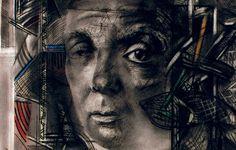 Borges todo el año: Jorge Luis Borges: La muralla y los libros - Retrato de Borges por Juan Carlos Benítez