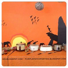 Disney's Lion King Baby Shower Party Ideas | Photo 11 of 27 | Catch My Party