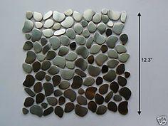 Stainless steel tile