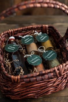 DIY Gift: Homemade Spice Blends - lots of recipes!