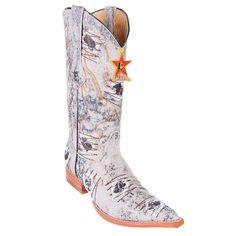 Los Altos 3X Pointed Toe Denim Cowboy Boots