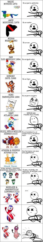 Cereal_guy - Mascotas olímpicas