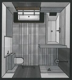 Salle de bains zen en teck et galets de 7m2 le plan ba o para nuestra casa pinterest zen - Deco toilet ontwerp ...